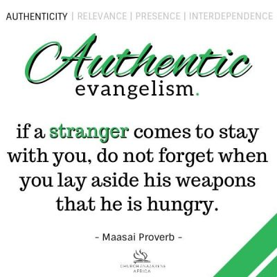 Authentic Evangelism